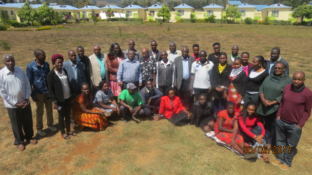 Participants During Natural Resources Management Training